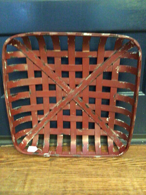 Small Red Tobacco Basket (New)