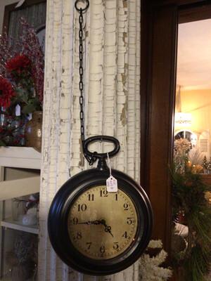 Small Pocket Watch Clock