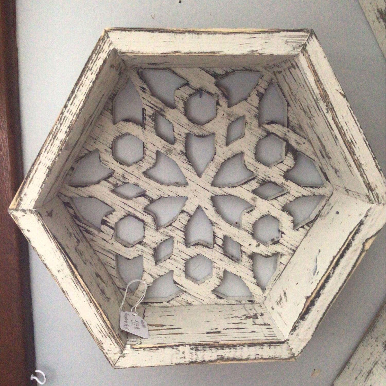 Wood Pyramid Lantern
