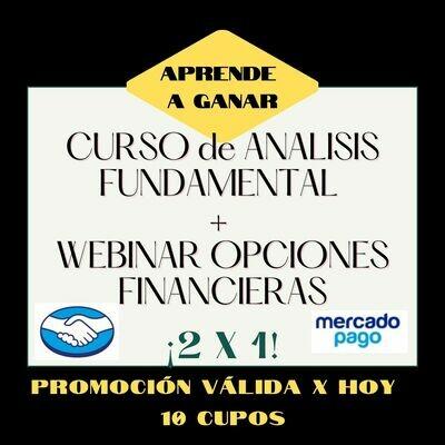 Curso de Analisis Fundamental + Webinar de Opciones Financieras