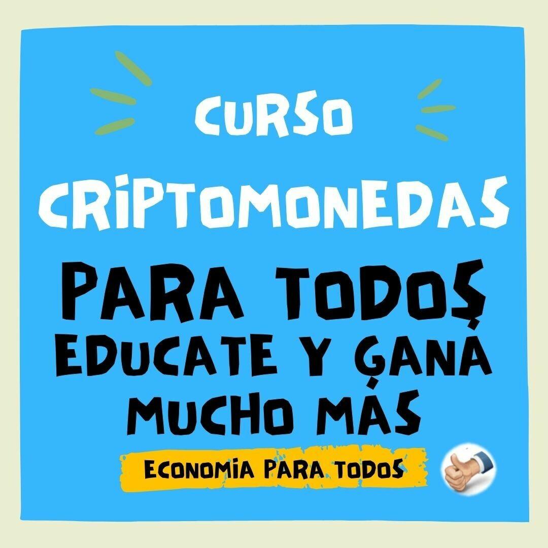 CURSO de CRIPTOMONEDAS para GANAR MUCHO