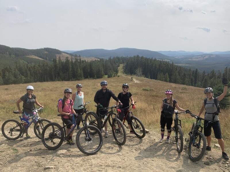 Strong Intermediate Weekly Mountain Bike Skills Series Wed June 2nd to June 16th