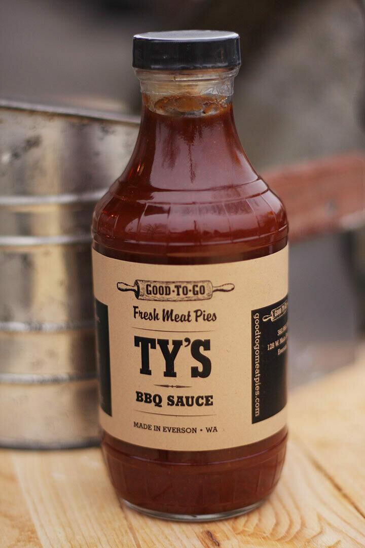 GTG TY'S BBQ SAUCE