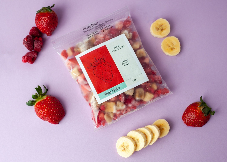 'Berry Necessities' Frozen Smoothie Pack