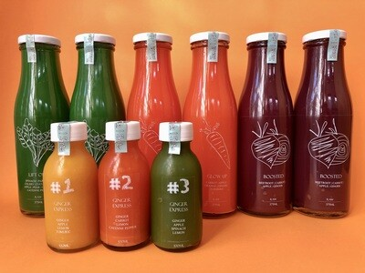 Cleanse 6x Juice 375ml 3x Shots 100ml