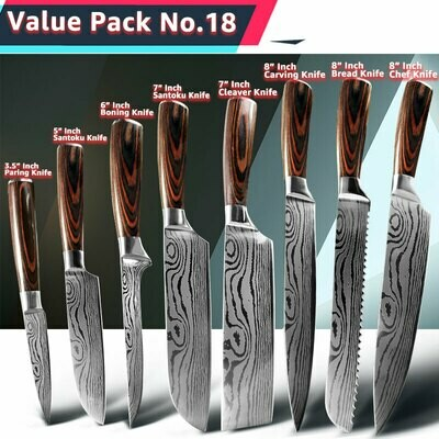 7 piece Chef Knife Set
