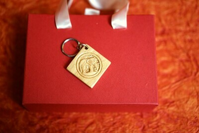 Wooden Carved Key chain