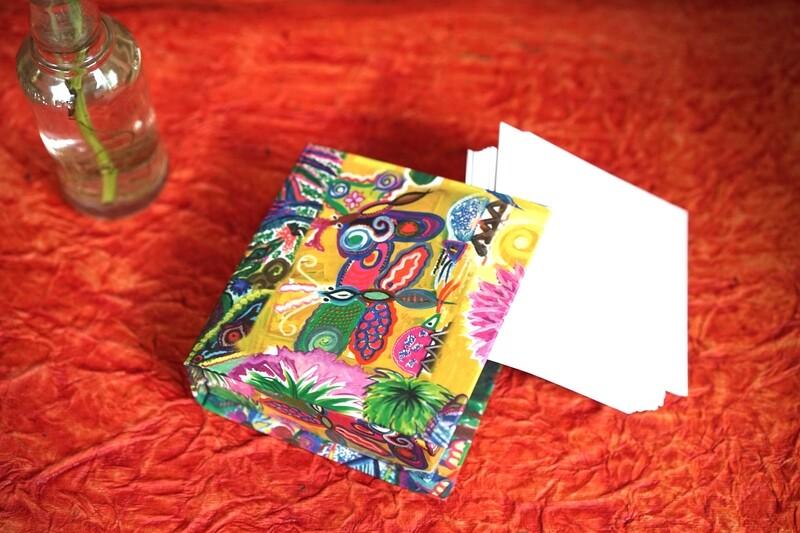 Beautiful Printed Memo Box