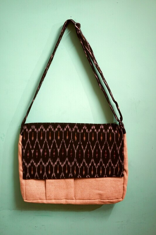 Assorted Jute Laptop Bag