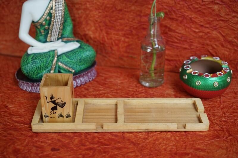 Wooden Stash Tray