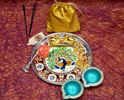 Pooja Thali Large