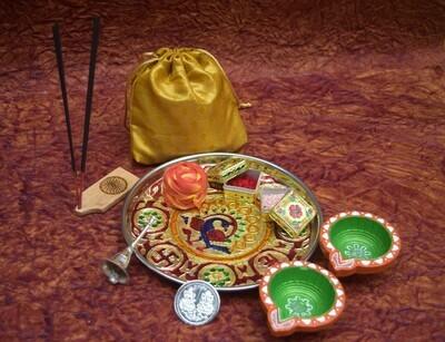 Pooja Thali Small
