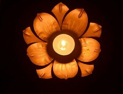 Lotus T-light holder - Metal