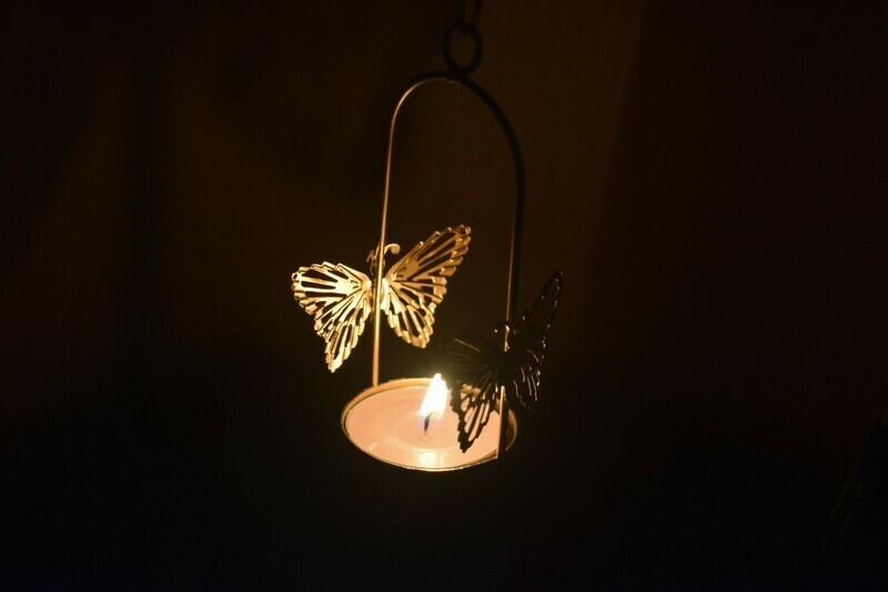 Butterfly T lights
