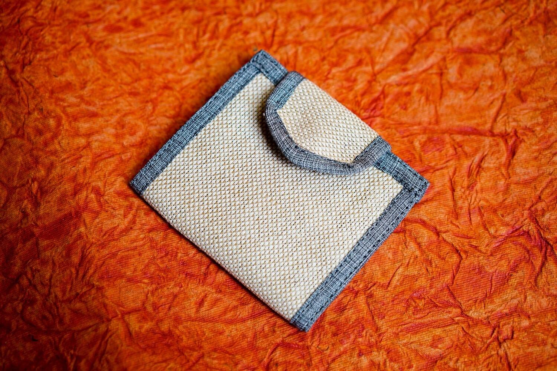 Handcrafted Jute Wallet
