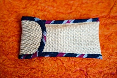 Jute  Spectacle  Pouch