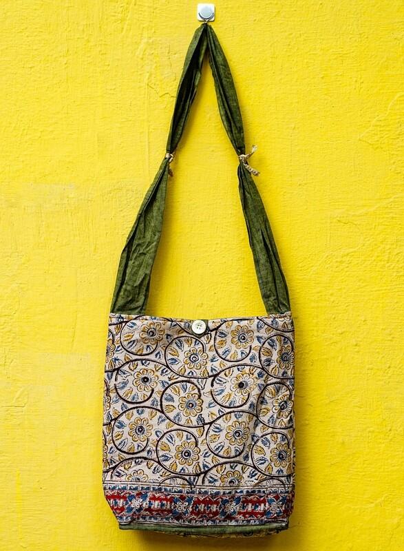 Button Sling Bag