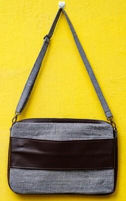 Khadi Laptop Bag With Sleeve