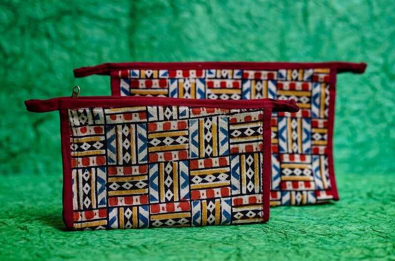 Printed Travel Pouch