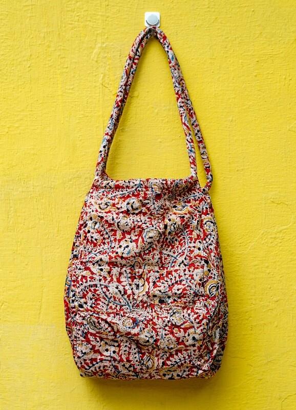 Kalamkari travel/Sling bag