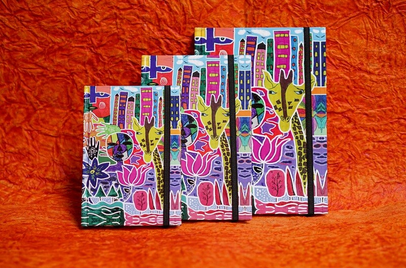 Beautiful Printed Notebook Assorted Colours
