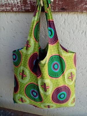JST Bag Green Circles