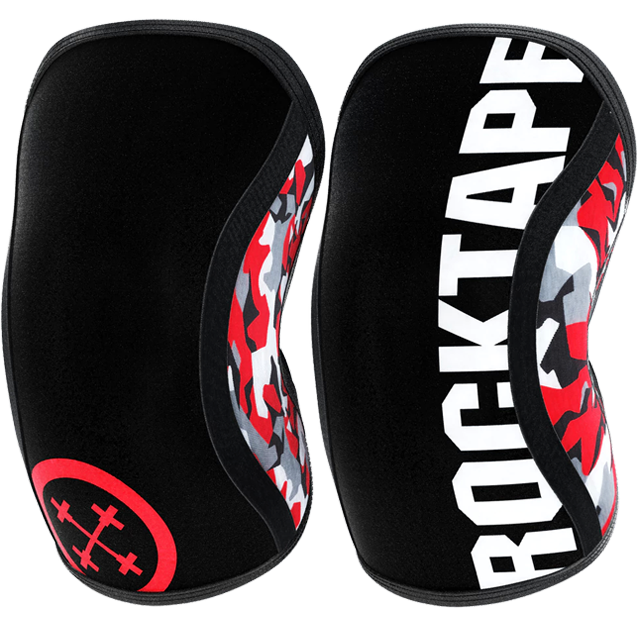 Assassins Knee Sleeves, Red Camo