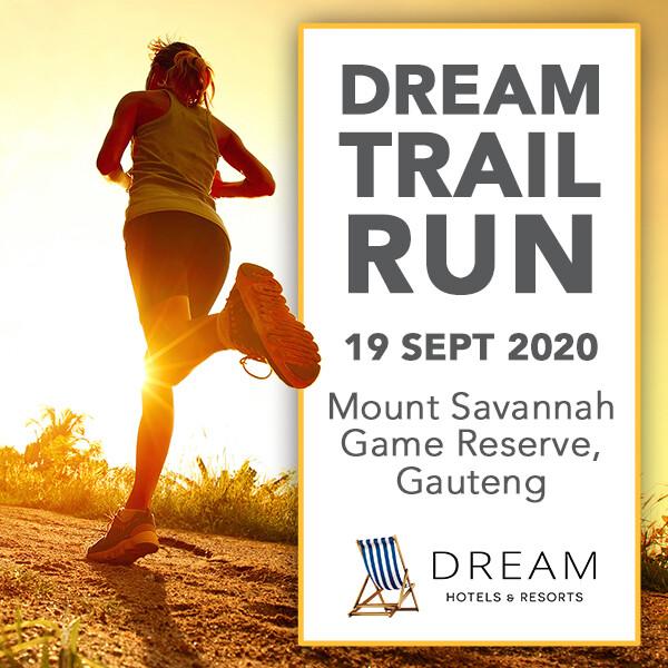 Dream Resorts Trail run - Gauteng -  19 September 2020
