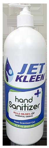 32 oz (946 mL), Gel Hand Sanitizer (CASE OF 12 BOTTLES)