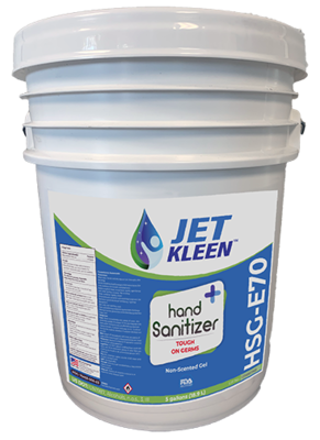 5 gal (18.9 L), Gel Hand Sanitizer