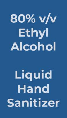 55 gal (208 L), Liquid Hand Sanitizer
