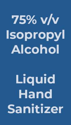 1 gal (3.78 L), Liquid Hand Sanitizer (CASE OF 4 JUGS)