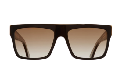 CUTLER AND GROSS 1354-01 BLACK TAXI SUNGLASSES