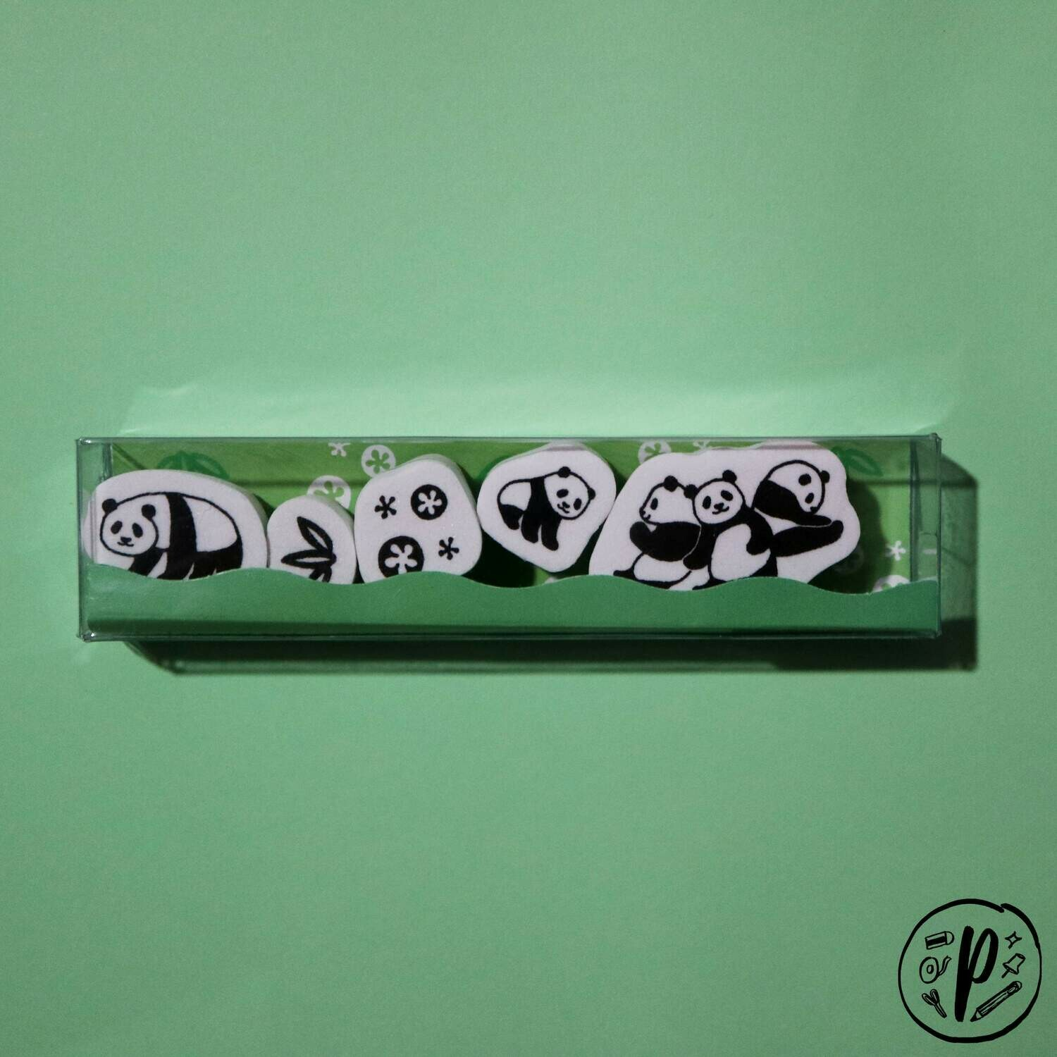 Kodomo no Kao Panda Stamp Set