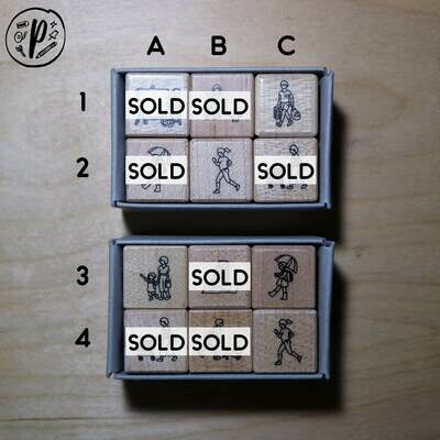 Plain Stationery Today's Plan Stamp
