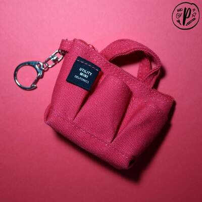 Delfonics Pouch (MINI) - Red