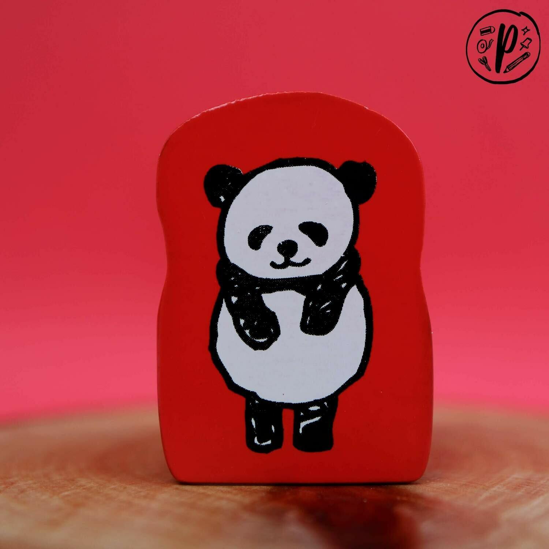 Kodomo no Kao Stamps: Bow Panda