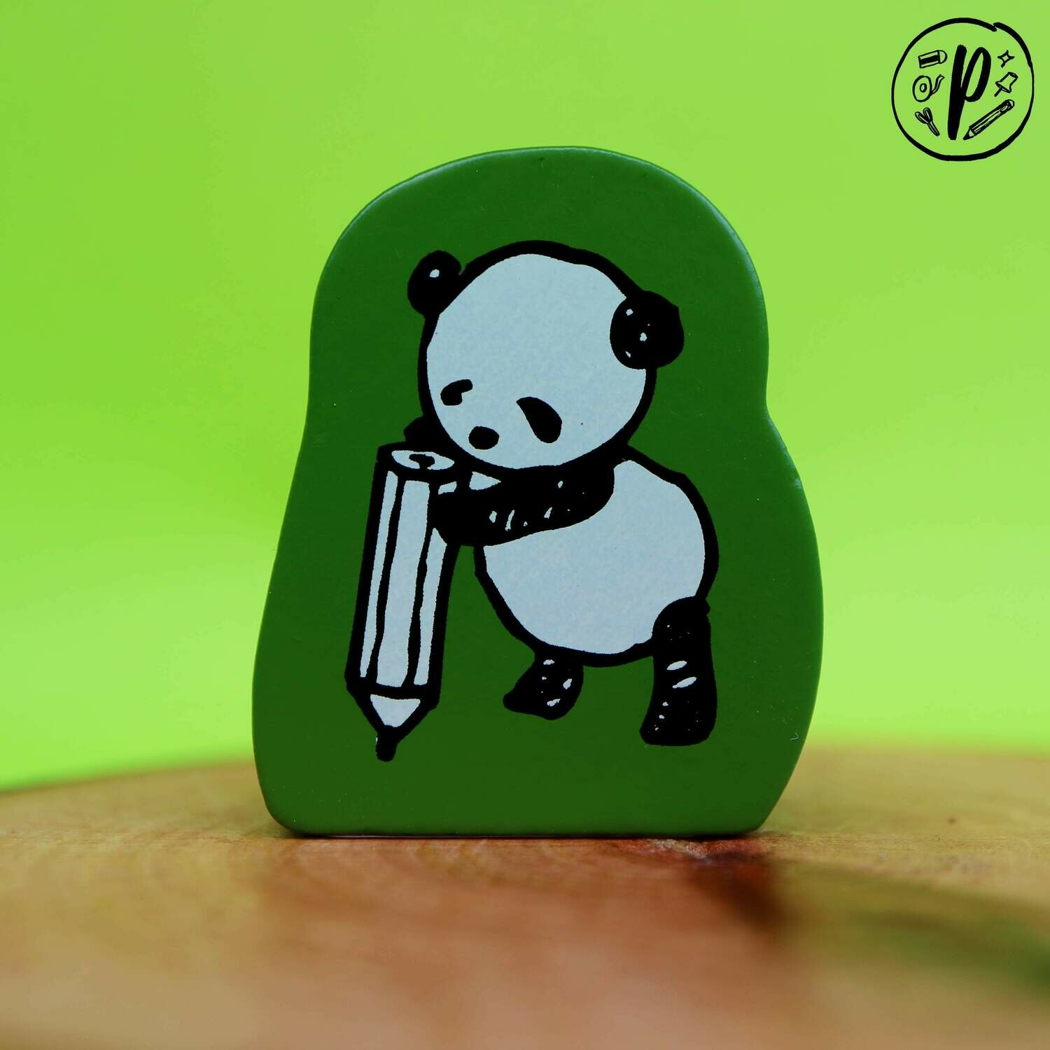 Kodomo no Kao Stamp: Panda Write