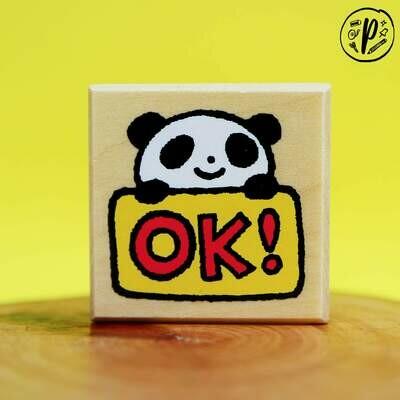 Kodomo no Kao Stamps: Ok Panda