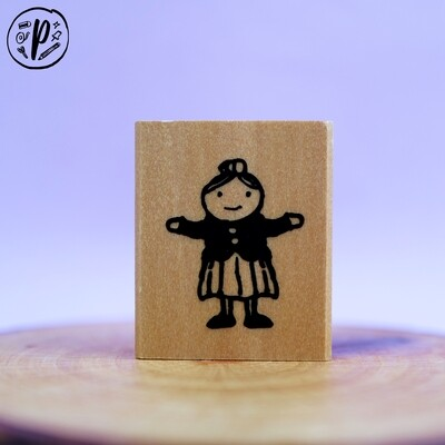 Kodomo no Kao Stamp: Girl
