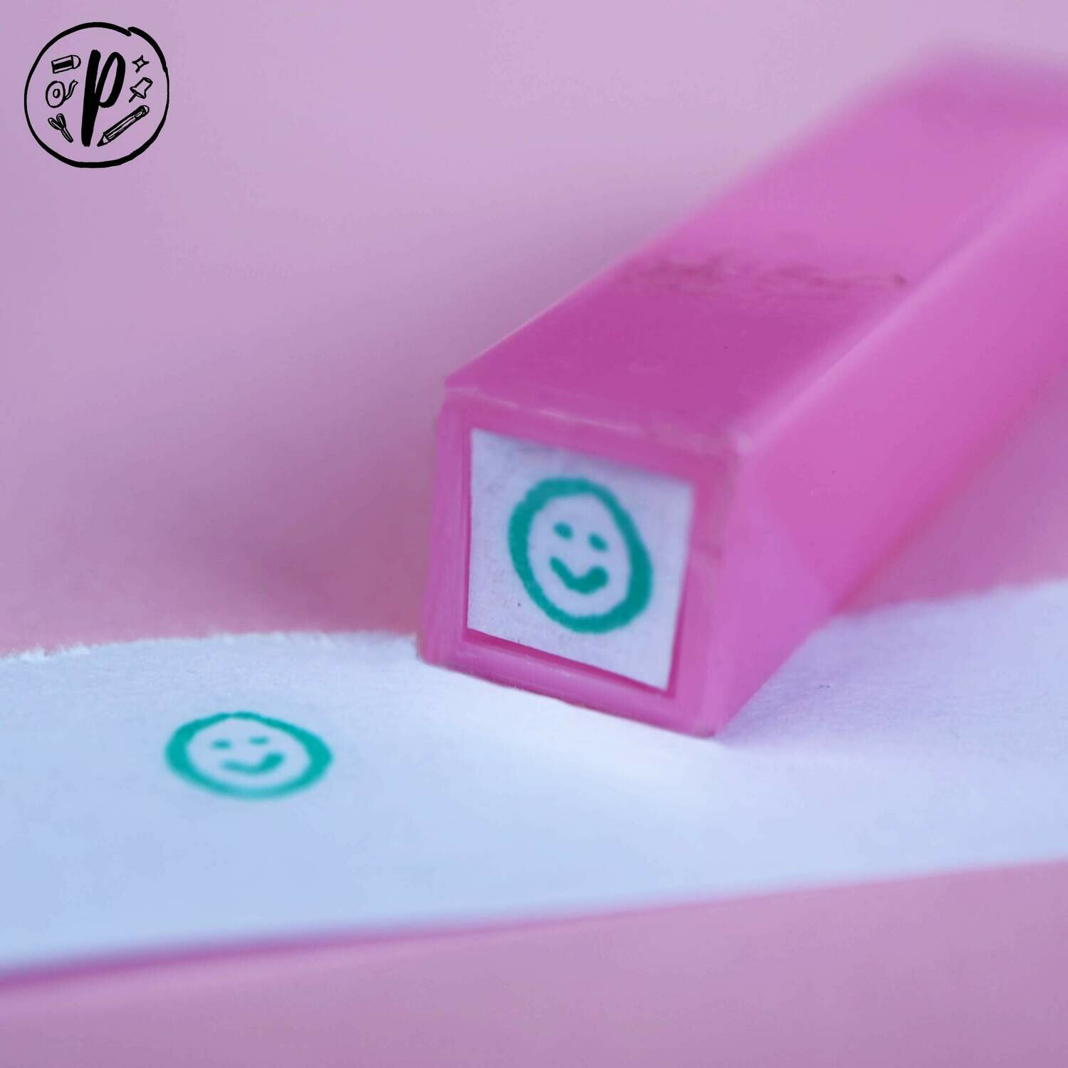 Planner Stamps // Digistamps x Paperworks Stationery: Happy Face
