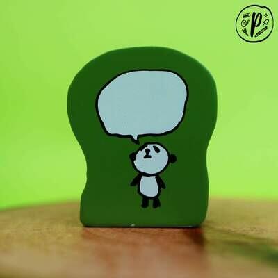 Kodomo no Kao Stamp: Panda Talk