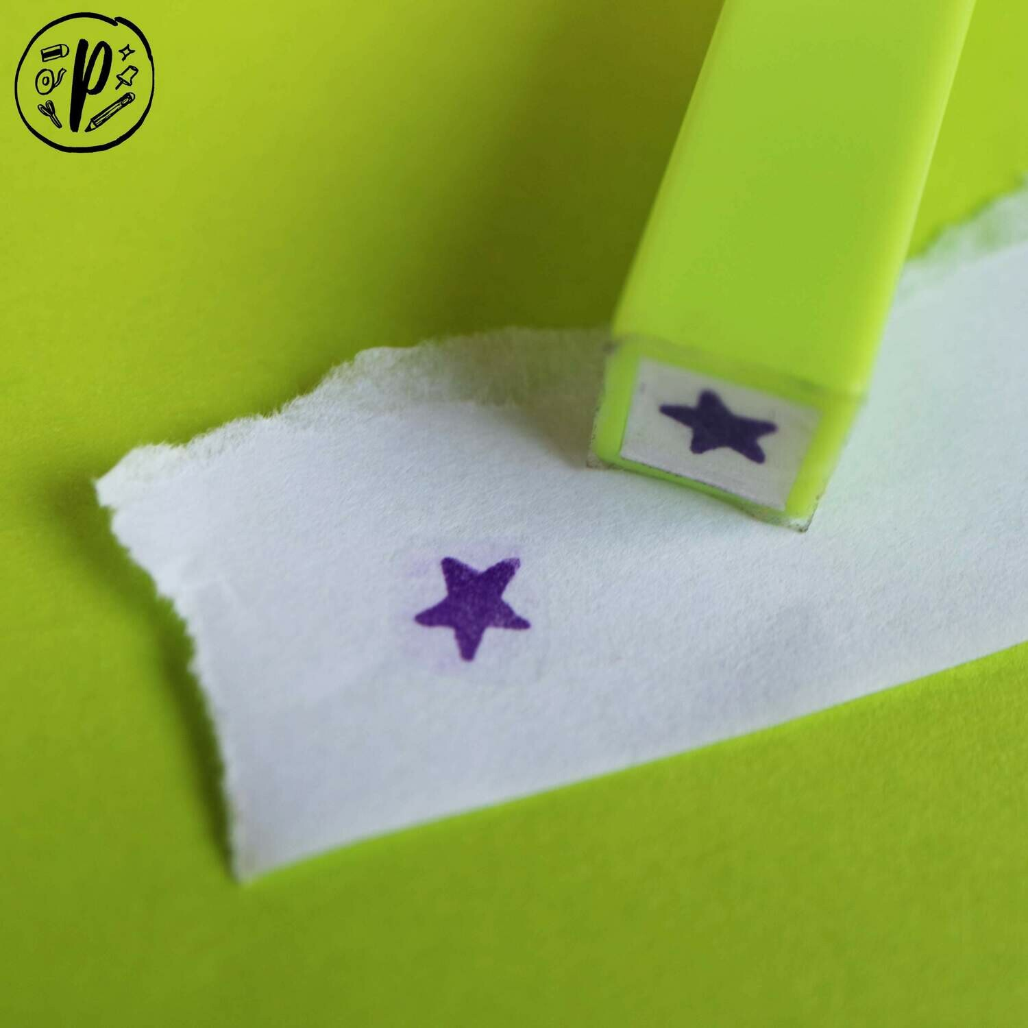 Planner Stamps // Digistamps x Paperworks Stationery: Star