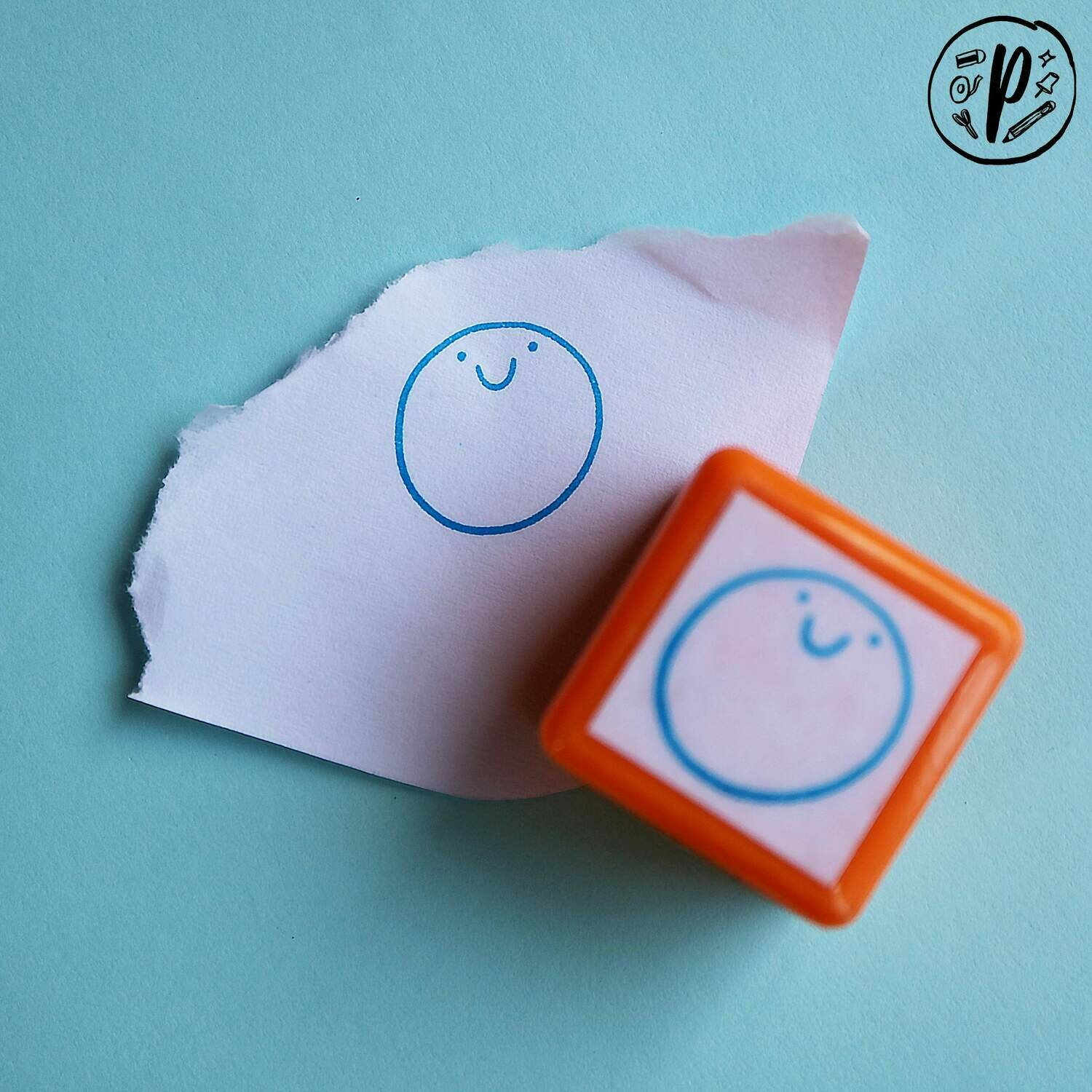 Planner Stamps // Digistamps x Paperworks Stationery: Smile