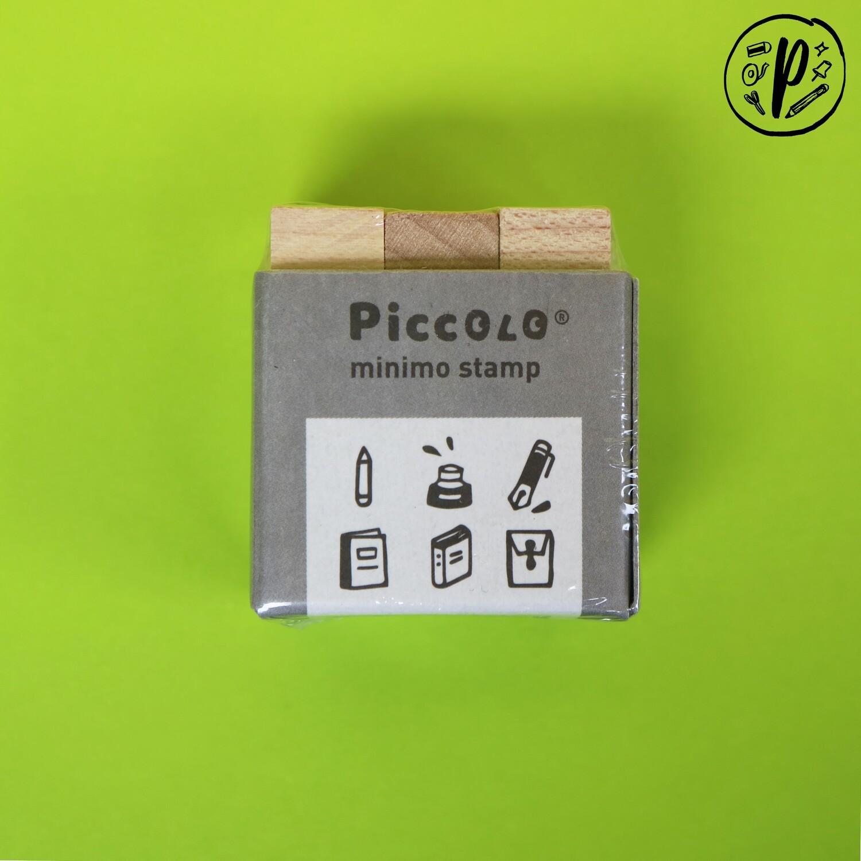 Plain Stationery Piccolo Minimo Stamp (Stationery Design)