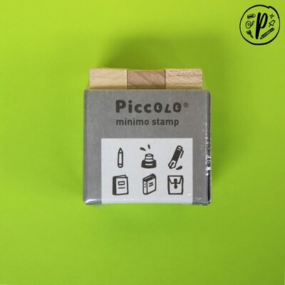 Plain Stationery Piccolo Minimo Stamp (Stationery Design)