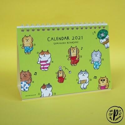 Gorogoro Nyansuke Cat 2021 Calendar