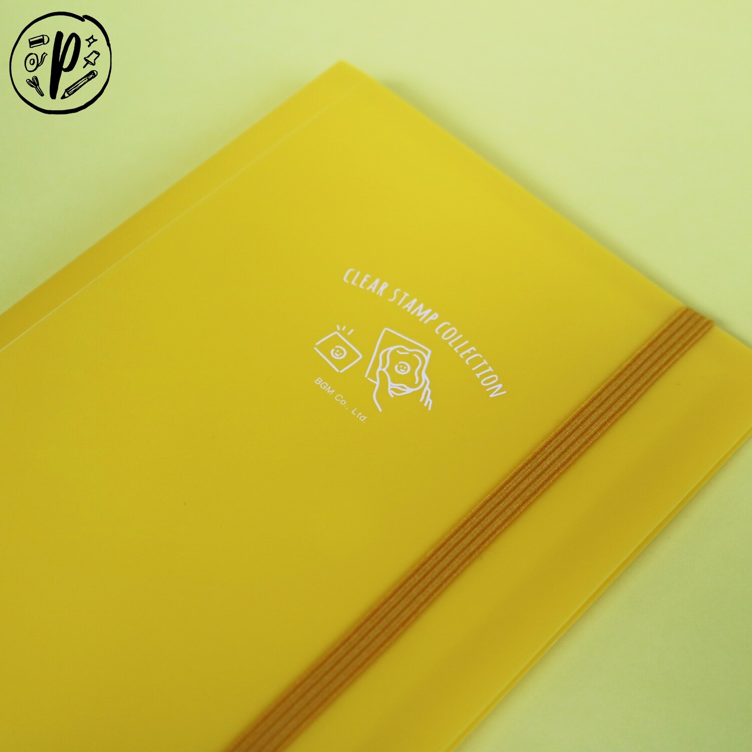 BGM Clear Stamp File (Yellow)