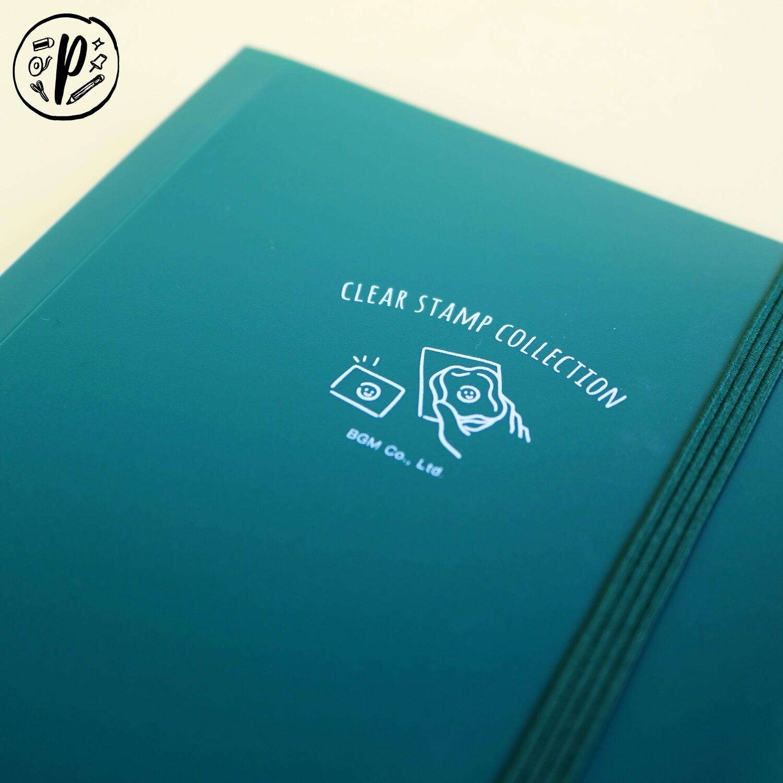 BGM Clear Stamp File (Green)