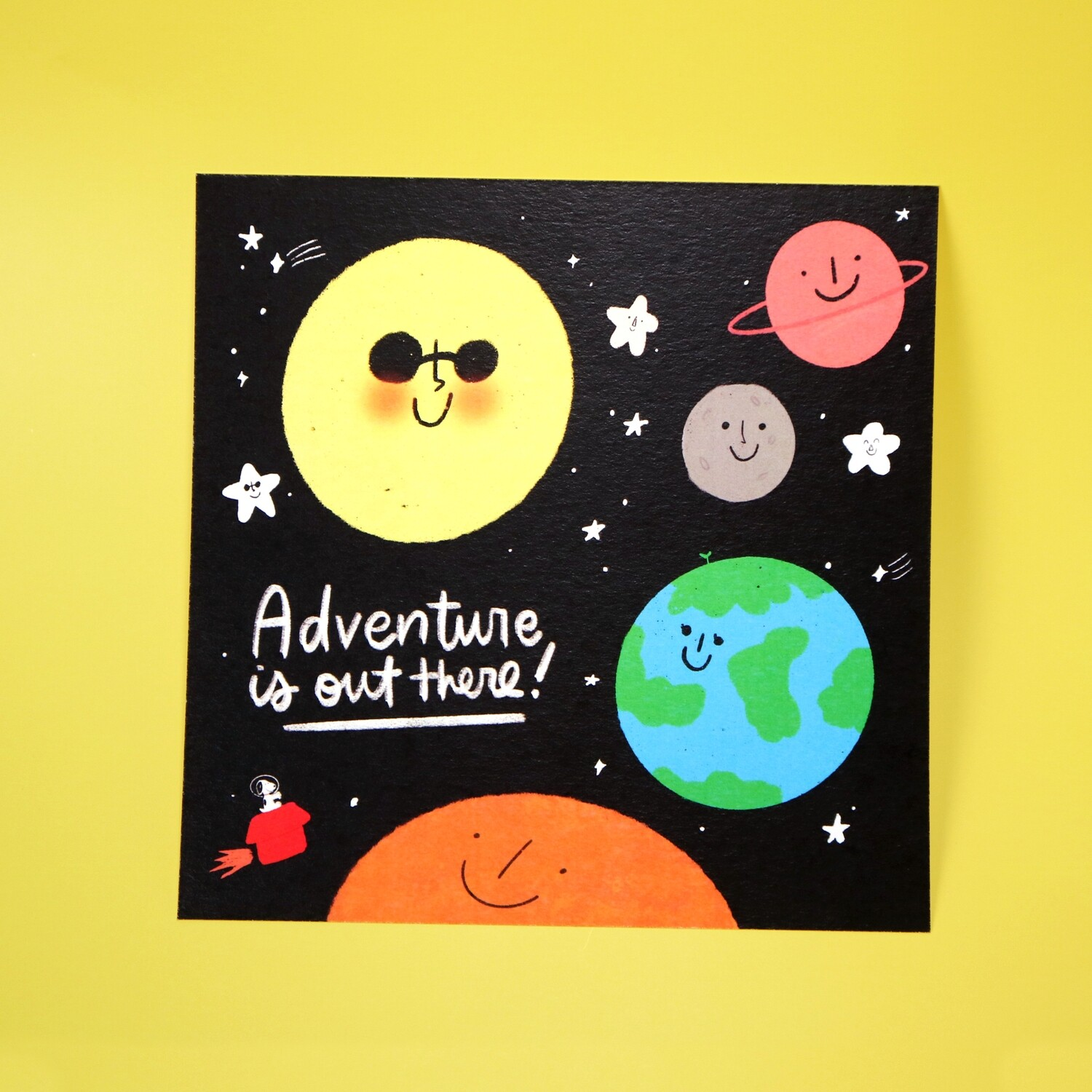 Adventure is Out There Print